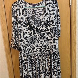 Animal Print Roamons Maxi Dress